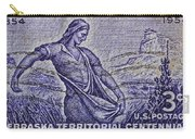 1954 Nebraska Territorial Stamp Carry-all Pouch