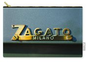 1955 Fiat 8v Zagato Emblem Carry-all Pouch