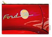 1955 Ford F-100 Pickup Truck Side Emblem -3515c Carry-all Pouch