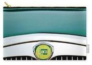 1955 Lancia Aurelia B24 Spyder America Roadster Grille Emblem Carry-all Pouch