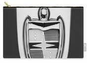 1955 Lincoln Indianapolis Boano Coupe  Emblem -0283bw Carry-all Pouch