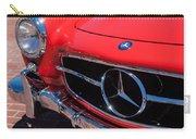 1955 Mercedes-benz 300sl Gullwing Grille Emblems Carry-all Pouch