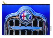 1956 Alfa Romeo Sprint Veloce Coupe Ultra Light Grille Emblem Carry-all Pouch