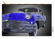 1956 Buick Special Riviera Coupe-blue Carry-all Pouch
