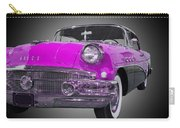 1956 Buick Special Riviera Coupe-purple Carry-all Pouch