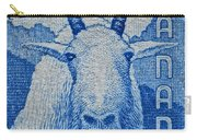 1956 Canada Mountain Goat Stamp Carry-all Pouch