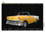1956 Chevy Bel Air Convertible Carry-all Pouch