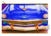 1956 Chevy - Blue Carry-all Pouch