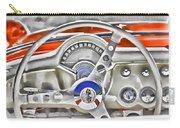 1956 Chevy Corvette Dash Wowc Carry-all Pouch