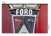 1956 Ford Fairlane Emblem Carry-all Pouch