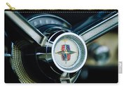 1956 Lincoln Continental Mark II Hess And Eisenhardt Convertible Steering Wheel Emblem Carry-all Pouch