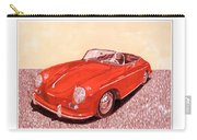 1956 Porsche 356 Cabriolet Carry-all Pouch