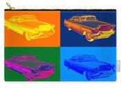 1956 Sedan Deville Cadillac Luxury Car Pop Art Carry-all Pouch
