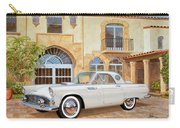 1956 Thunderbird At Palm Beach  Classic Vintage Ford Art Sketch Rendering          Carry-all Pouch