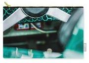 1957 Aston Martin Dbr2 Steering Wheel Emblem -2345c Carry-all Pouch