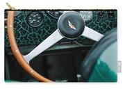 1957 Aston Martin Dbr2 Steering Wheel Carry-all Pouch