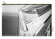 1957 Chevrolet Belair Coupe Tail Fin -019bw Carry-all Pouch
