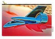 1957 Chevrolet Belair Hood Ornament Carry-all Pouch by Jill Reger