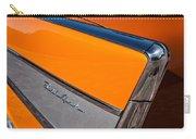 1957 Chevrolet Belair Rear Emblem -037c Carry-all Pouch