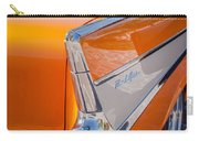 1957 Chevrolet Belair Taillight Emblem -019c Carry-all Pouch