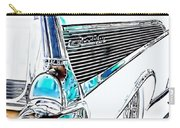 1957 Chevrolet Bel Air Art White Carry-all Pouch