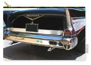1957 Chevy Rear View Car Art Carry-all Pouch
