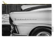 1957 Ford Fairlane Emblem -359bw Carry-all Pouch
