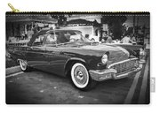 1957 Ford Thunderbird Convertible Bw Carry-all Pouch