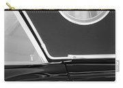 1957 Ford Thunderbird Window Black And White Carry-all Pouch