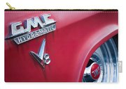 1957 Gmc V8 Pickup Truck Gmc Hydra-matic Emblem Carry-all Pouch