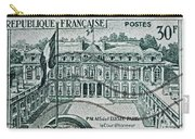 1957 Palais Del Elysee Paris Stamp Carry-all Pouch