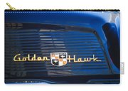 1957 Studebaker Golden Hawk Supercharged Sports Coupe Emblem Carry-all Pouch