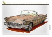 1957 Thunderbird Carry-all Pouch
