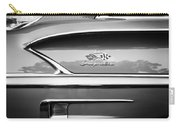 1958 Chevrolet Bel Air Impala Painted Bw  Carry-all Pouch