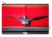 1958 Chrysler Imperial Crown Convertible Emblem Carry-all Pouch