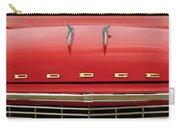 1958 Dodge Coronet Super D-500 Convertible Hood Ornament Carry-all Pouch by Jill Reger