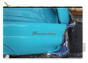 1958 Ford Thunderbird Detail Carry-all Pouch