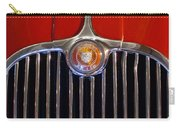 1958 Jaguar Xk150 Roadster Grille Emblem Carry-all Pouch