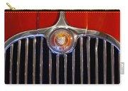1958 Jaguar Xk150 Roadster Grille Emblem Carry-all Pouch by Jill Reger