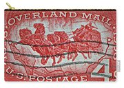 1958 Overland Mail Stamp Carry-all Pouch