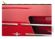 1958 Pegaso Z-103 Touring Berlinetta Side Emblem -1195c Carry-all Pouch
