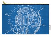 1958 Space Satellite Structure Patent Blueprint Carry-all Pouch