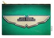 1959 Aston Martin Db4 Gt Hood Emblem -0127c Carry-all Pouch