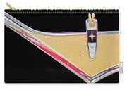 1959 Desoto Adventurer Emblem Carry-all Pouch by Jill Reger