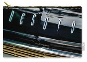 1959 Desoto Adventurer Hood Emblem Carry-all Pouch by Jill Reger