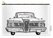 1959 Edsel Ford Ranger Illustration Carry-all Pouch