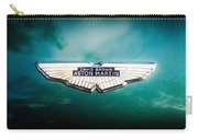 1960 Aston Martin Db-4 Series II Emblem -0435c Carry-all Pouch