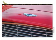 1960 Aston Martin Db4 Grille Emblem Carry-all Pouch