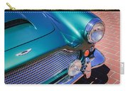1960 Aston Martin Db4 Series II Grille Carry-all Pouch by Jill Reger