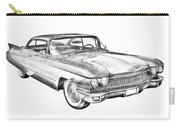1960 Cadillac Luxury Car Illustration Carry-all Pouch